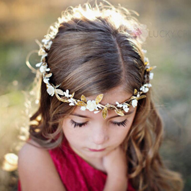 Baby Girl Flower Crown Wreath Headband Boho Floral Headband Summer Style Newborn Rose Flowers Headdress Hair band Accessories(China (Mainland))