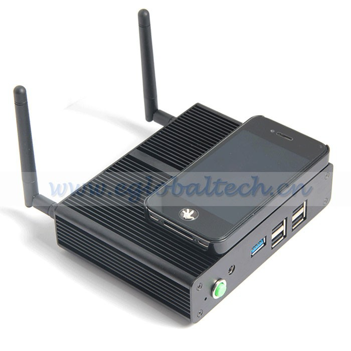 Cheapest China Factory Fanless BayTrail Android Mini PC Celeron N2810 Dual Core 4G RAM 8GB SSD VGA HDMI Auto Boot Windows Car PC(China (Mainland))