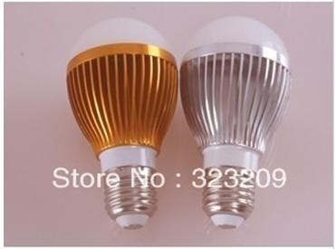Hot selling~ High Power E27 3W 4w 5w 6w 85-265V 5pcs a lot china mail post free shipping LED Light LED Bulb Spotlight(China (Mainland))