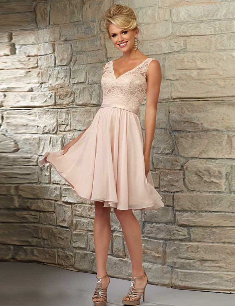 Wedding Sexy Wedding Guest Dresses online get cheap coral wedding guest dress aliexpress com bridesmaid 2017 formal v neck sexy knee length gowns party dresses