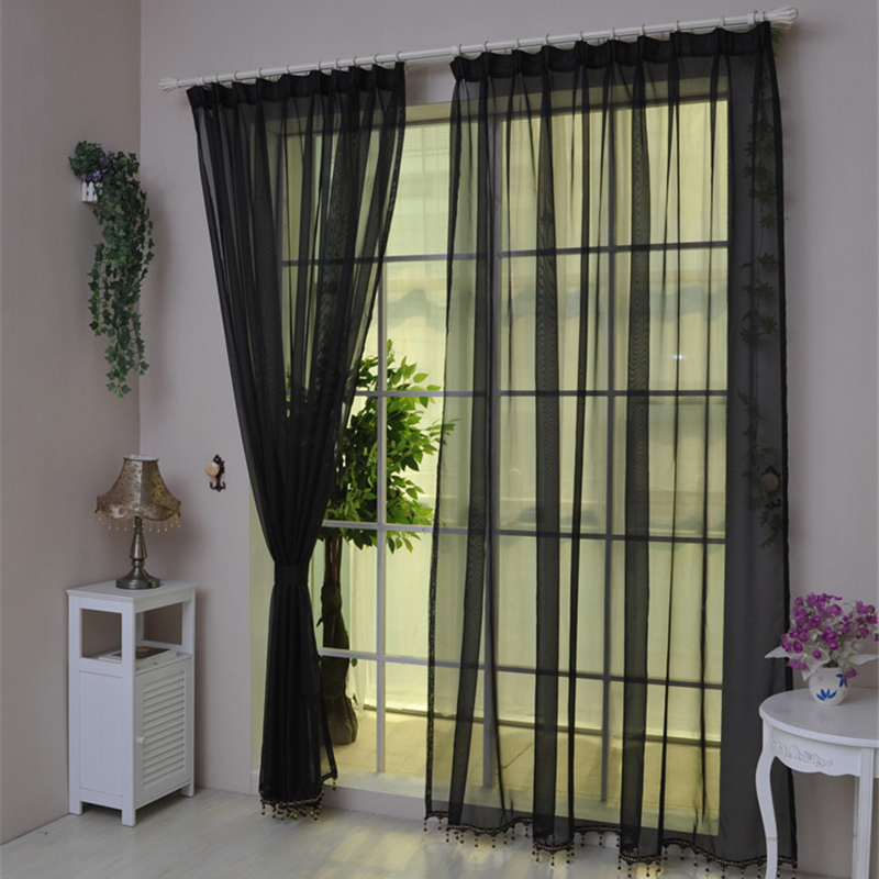 Online buy wholesale cortinas de organza from china for Visillos para cortinas