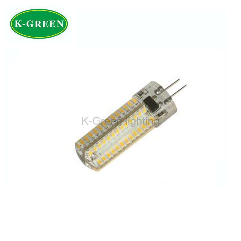 100X Shenzhen factory supply dimmable 220-240V input 4W 120PCS 3014SMD G4 LED light bulb express free shipping(China (Mainland))