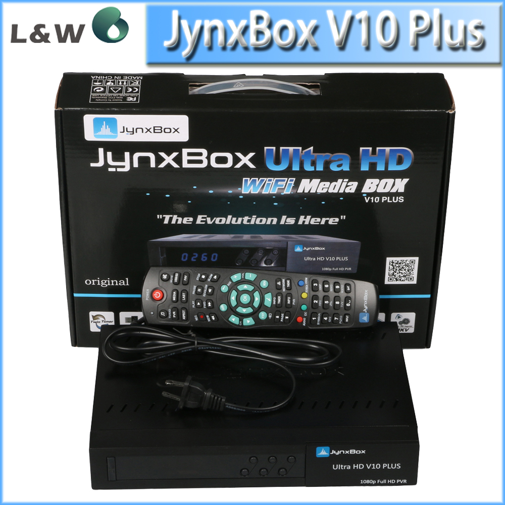 For North America Jynxbox V10 plus Ultra HD Satellite TV Receiver Jynxbox v10+ 1080P W/JB200 HD Module Support ATSC Tuner(China (Mainland))
