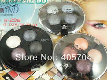 3pcs/lot,whole and retail,4 Color Baked Eyeshadow long-lasting eye shadow palette,free shipping by CHINA POST