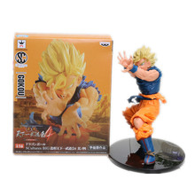 Anime Dragon Ball Z Sun Goku Super Saiyan PVC Action Figure Collectible Model Toy 17CM