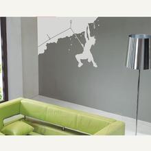 Free shipping Mountain Climbing Man kids Art Wall Stickers/Wall Decal 60*90CM
