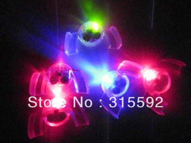 Free Shipping 24pcs/lot LED mouth guard flashing mouth piece fashion teethwear mouth light(China (Mainland))