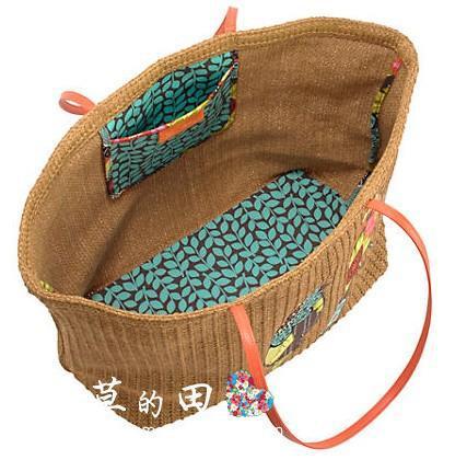Vera Bags-Large Straw Tote(China (Mainland))