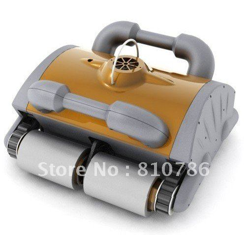 Free Shipping Robot Pool Cleaner with 70micron Filter Bag Porosity,24DV Motor Voltage,Cable 20m