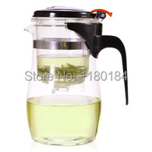 1000ml high heat resistant borosilicate glass teapot with filter,new office clear puer tea infuser teapots,chinese flower pot