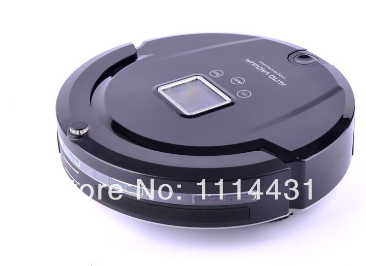 Free Shipping 2013 The Most Popular Auto Vacuum Cleaner Robot With Longest Working Time,UV Light,Schedule,Dirt Detection(China (Mainland))
