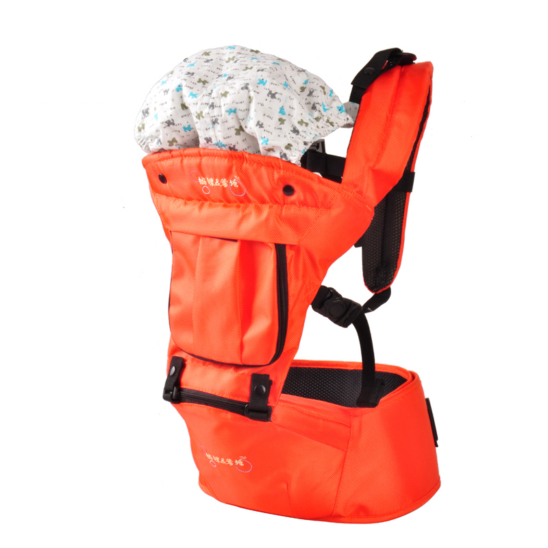 2016 New Designed Baby Carrier Backpack Carriage Solid Color Sling Baby Backpack Hamburger Baby Wrap Backpacks &amp; Carriers<br><br>Aliexpress