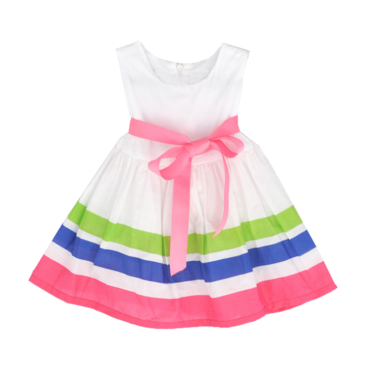 Rainbow clothing store for kids