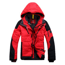free shipping man's winter down jacket casual warm jacket men white duck down men solid men's winter coat Size S-XL 6 colors(China (Mainland))