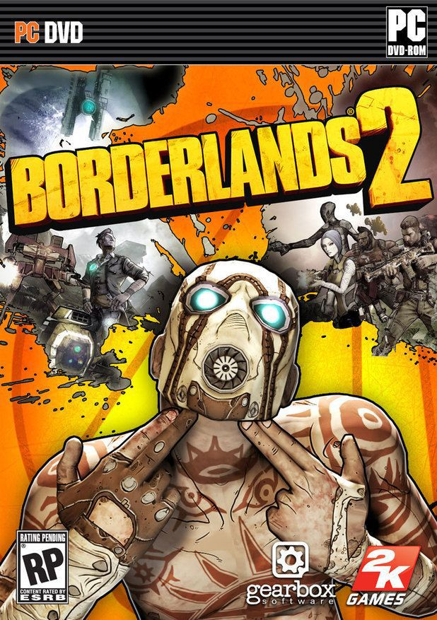 Borderlands 2 PC computer game Software English version,first person shooter game.(China (Mainland))
