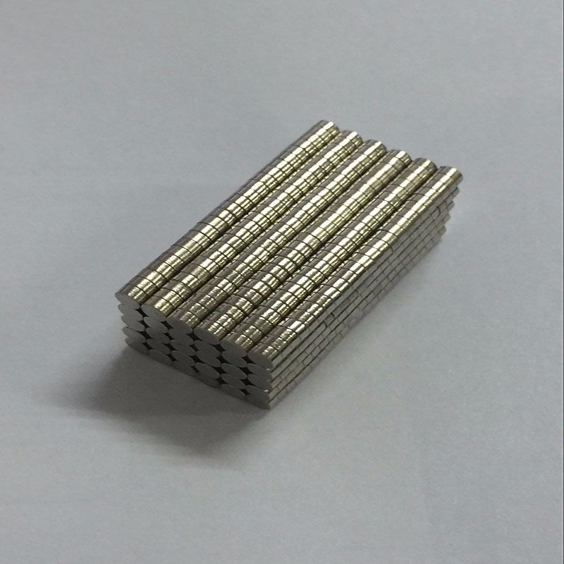 200pcs Neodymium N35 Dia 2mm X 1mm Strong Magnets Tiny Disc NdFeB Rare Earth For Crafts Models Fridge Sticking