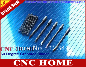 Free Shipping High Quality 5 pcs/lot 60 Degree Carbide Graphtec 09 Vinyl Cutter Plotter/Printer Blades