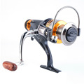 10 1BB Metal Fishing Reel Spinning 5 1 1 Gold Coil Spool 5000 6000 Front Drag