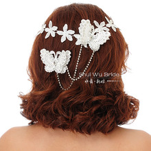 popular bridal flower headband