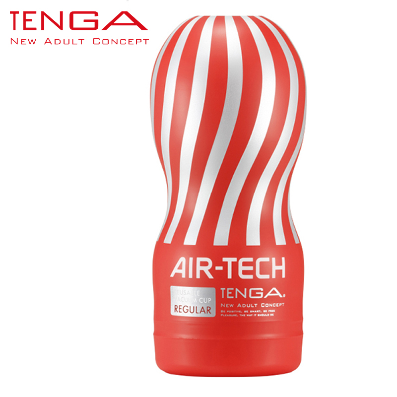TENGA AIR-TECH Reusable Vacuum Pussy Sex Cup Vagina Real Pussy Male Masturbator Cup Sex Toys for Men Sex Products ATH-001R(China (Mainland))