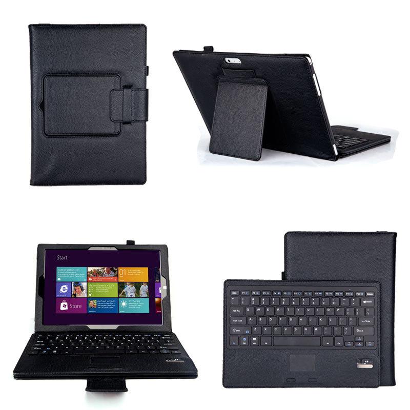 Detachable removable wireless bluetooth keyboard pu for Best home office wireless keyboard