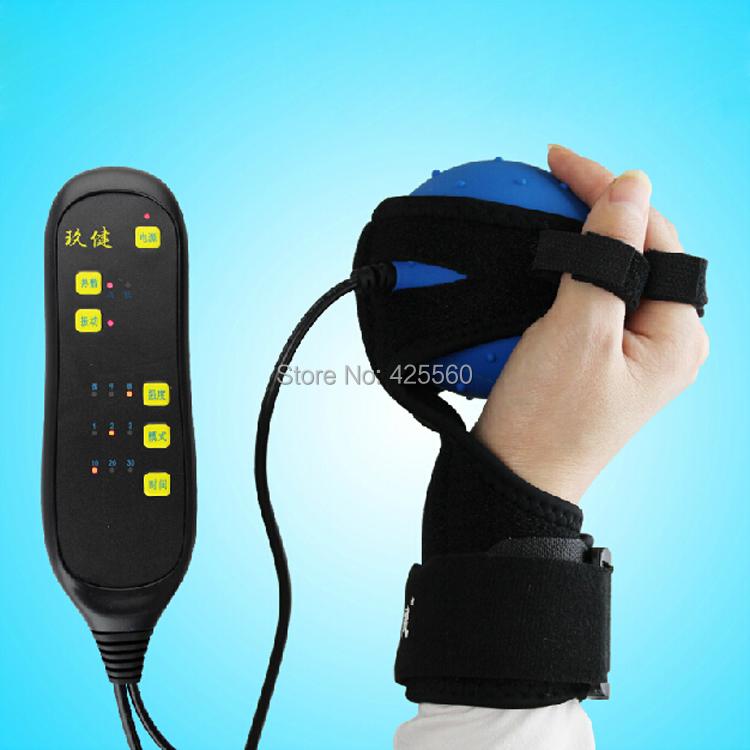 Hemiplegia Finger Recovery Equipment Training Electric Hot Compress Massage Training Balls Electric Massage Ball Finger Board(China (Mainland))