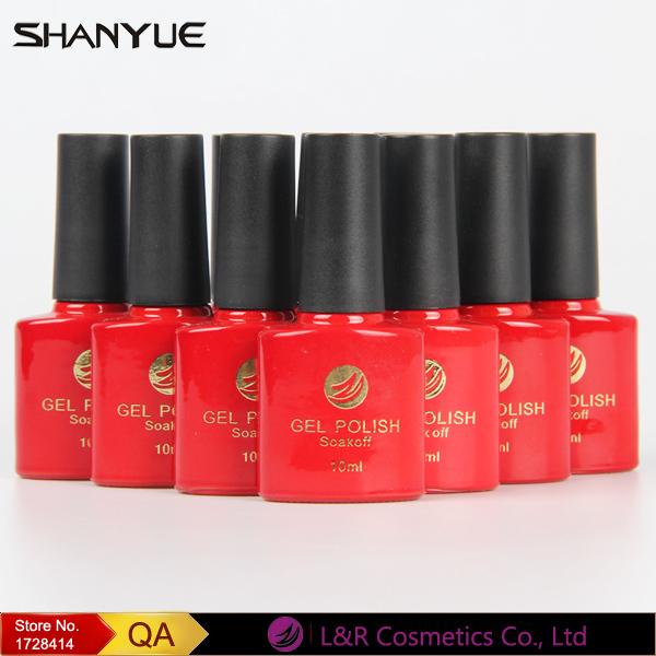SHANYUE 72 Colours LED UV Gel Nail Polish Sapphire Base Color Paint Soak Off French Manicure Vernis Gel Lak Nagellack 10ml(China (Mainland))