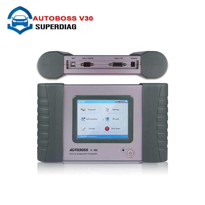 Free Shipping Original update via official website New Autoboss V30,SPX Autoboss V30 English/Spanish/Russian AS launch diagun ii(China (Mainland))