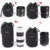 Matin Neoprene Soft Waterproof Camera Lens Pouch bag Case 4 pcs Size XL L M S