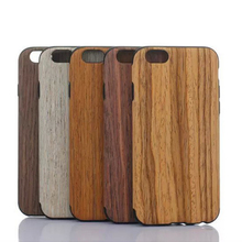 """20pcs/lot For Apple iPhone 6 6S 4.7"""" iPhone6S 5.5 Inches High Quality Senior fashion Phone Case Wood Grain Soft Back Cover Shell(China (Mainland))"""