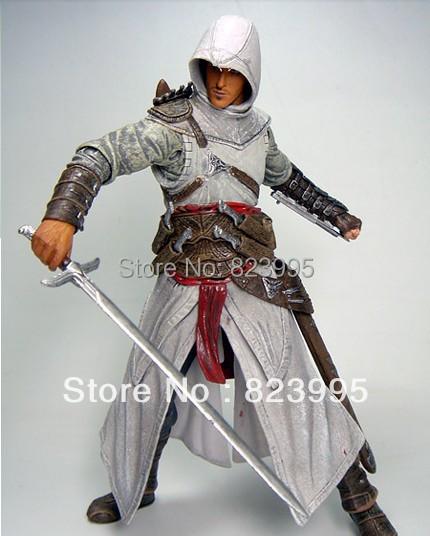 NEW  NECA  Assassins creed   Anime peripheral  Ezio  Altair  figure  PVC  20CM Free Shipping