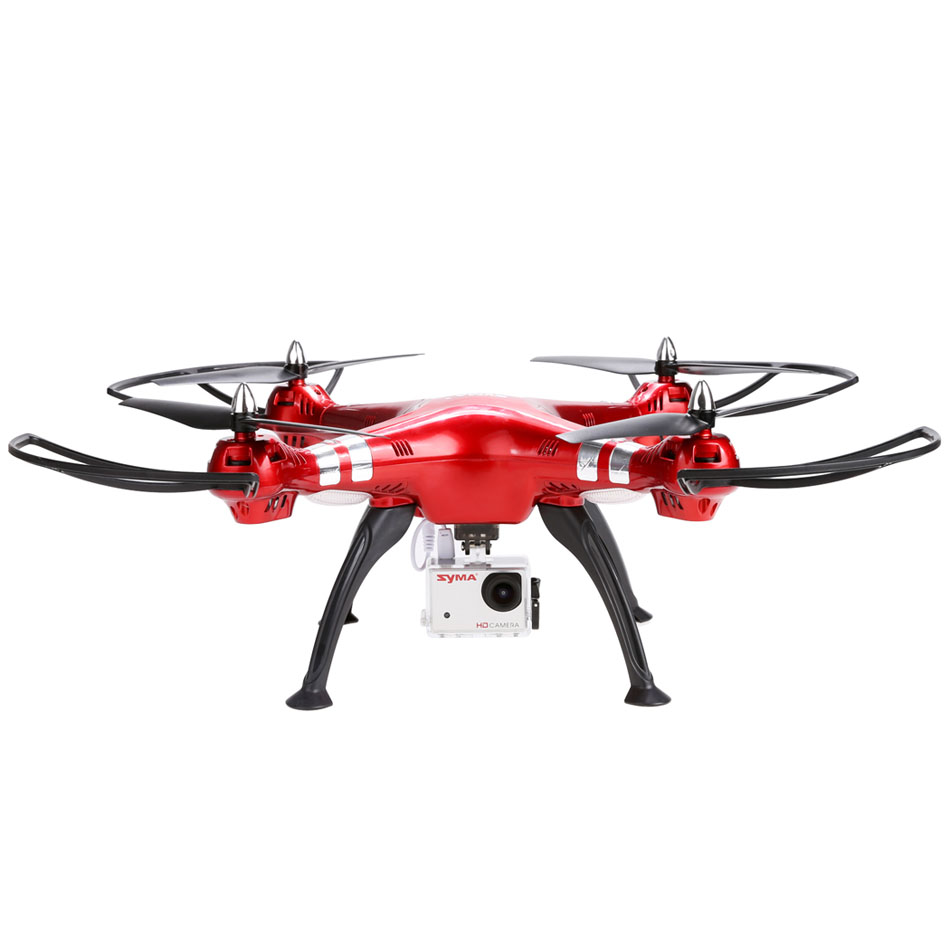 <font><b>Syma</b></font> <font><b>X8HG</b></font> RC Quadcopter Drone 2.4G 4Channel Gyro HD Camera Helicopter Remote Control 360 Degree Flip Flycopter New BD