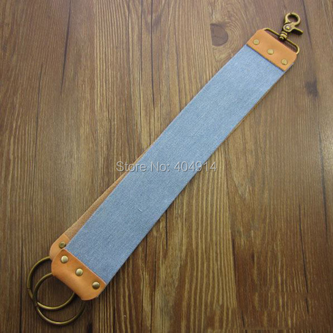 Sharpening Leather shaving Strop For Barber Straight Razor Fold Knife Sharpening
