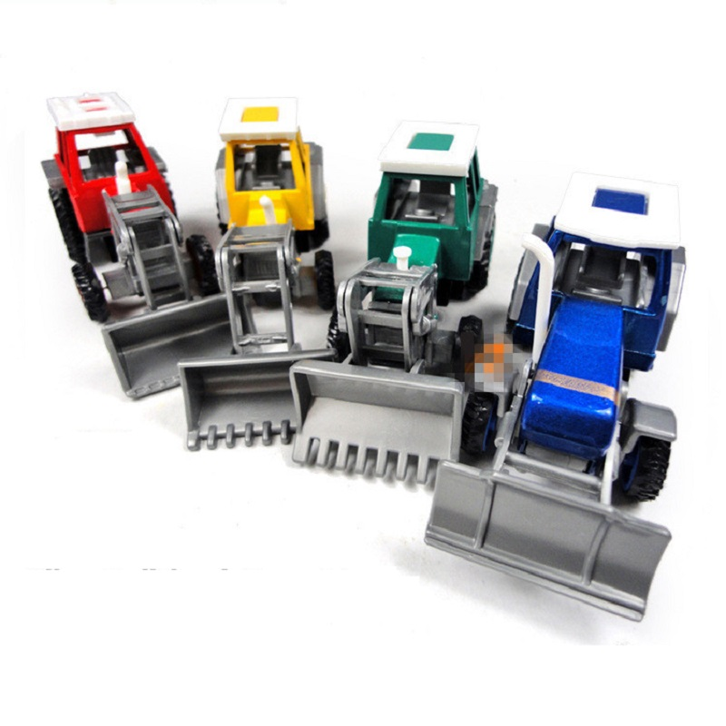 New Arrival Educational Toy Pull Back Alloy Tractor Toy Rural Truck Small Farmer Model Metal Model Farm Vehicles Free Shipping(China (Mainland))