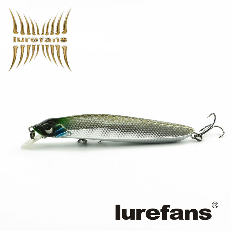 Top quality floating pencil lure jerkbait 90mm 8g for Bass fishing jerkbaits