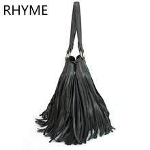 Buy RHYME Hot Sale soft Tassel Bags Women Messenger Bag Ladies Crossbody Handbag Vintage Messenger Bag Motorcycle Bolsa Feminina for $15.80 in AliExpress store