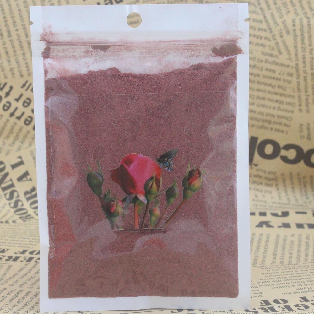 100% rose flower powder for moisturizing whitening moisturizing blemish soft powder with rose flower 20g powder/12(China (Mainland))
