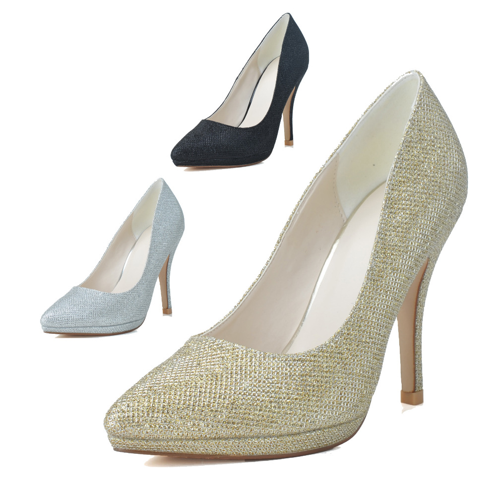Silver Heels Cheap Prices