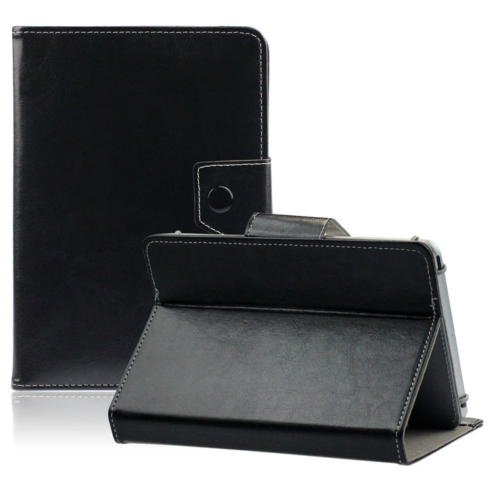 New Universal Crystal Leather Stand Cover Case For 7 Inch Tablet PC Lucky Free Shipping(China (Mainland))