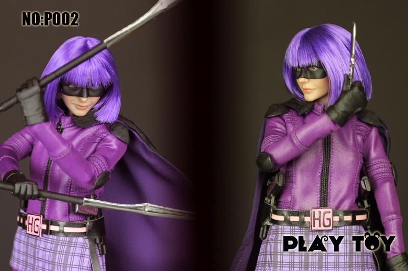 Aliexpress.com : Buy Play toy 1/6 Purple girl Kick Ass Mindy ...