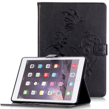 WeFor Cover Silicon Leather Case for Apple iPad Air 2 Flip Book Style Stand with Card Holder For iPad Air2 Wallet [Painting](China (Mainland))