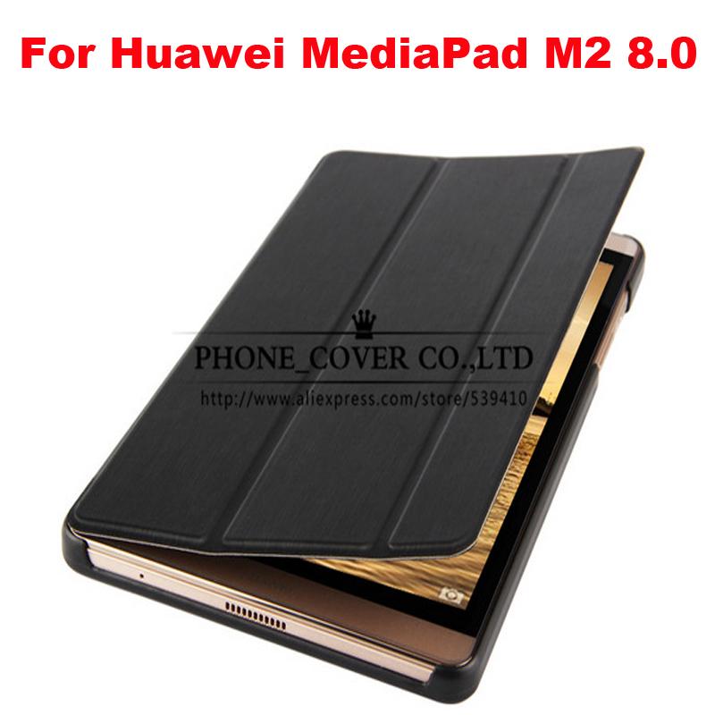 Ultra thin Smart pu leather Case cover For Huawei MediaPad M2 M2 801W M2 803L funda