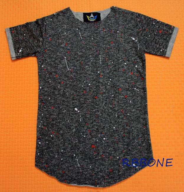 Tyga 2016 bswag T shirt Hip Hop Extended Zipper Red font b Tartan b font Plaid