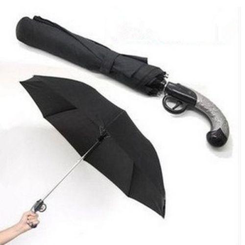 # Classical Creative Anti-UV Short Western Gun Style 2 Folding Auto Open Umbrella(China (Mainland))