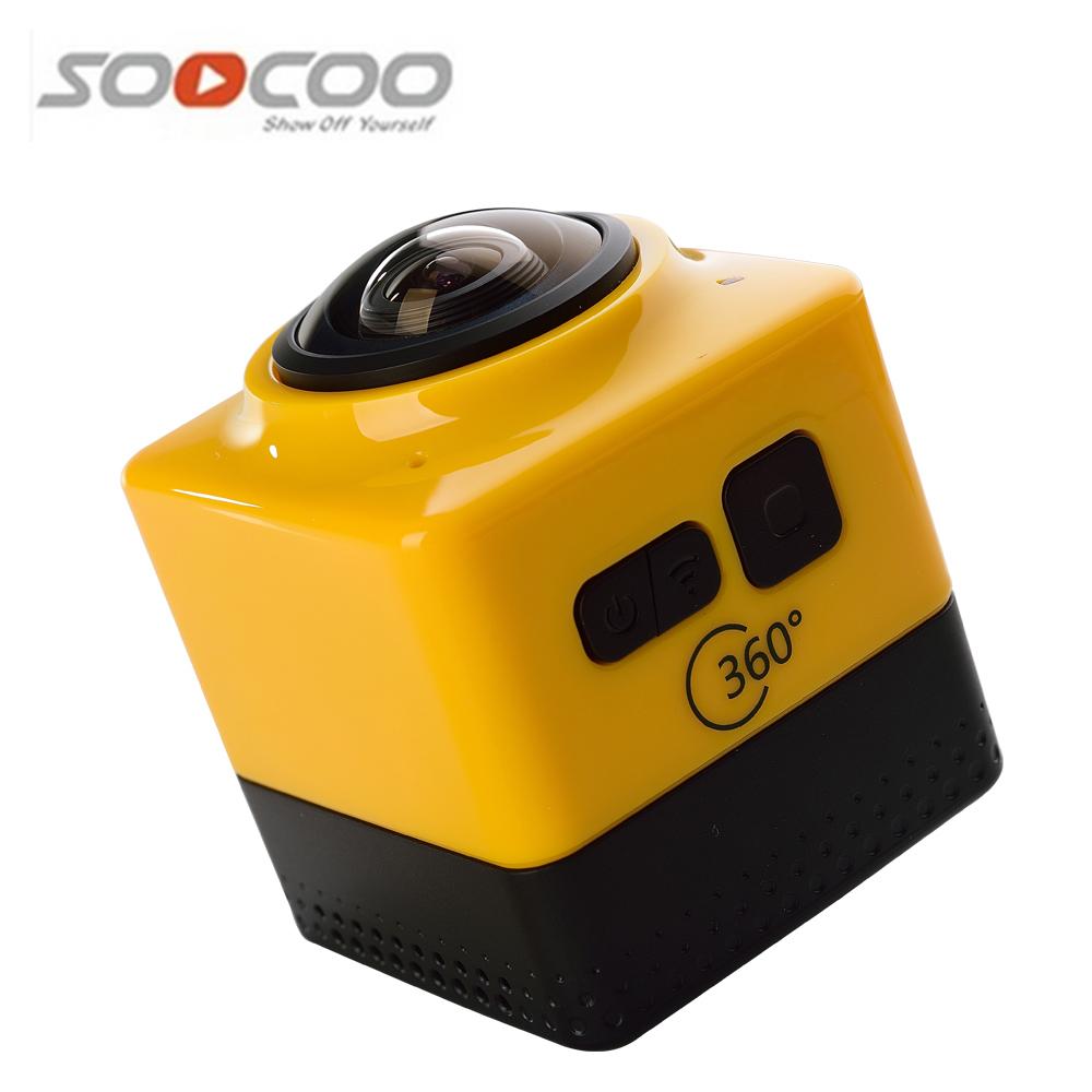 SOOCOO CUBE 360 Mini WiFi Sports Action Camera 1280*1024 28fps 720P 360 Degree Panoramic VR Cameras Ultra HD Helmet Cam(China (Mainland))