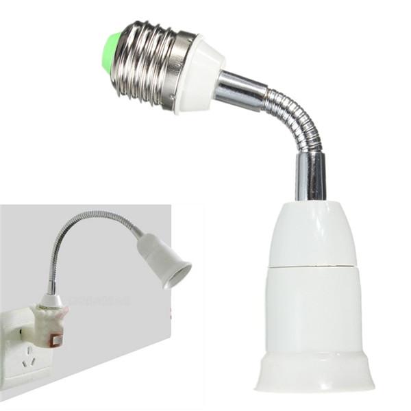 Excellent Quality E27 To E27 15CM Length Flexible Extension LED Light Bulb Lamp Base Holder Screw Socket Adapter Converter<br><br>Aliexpress