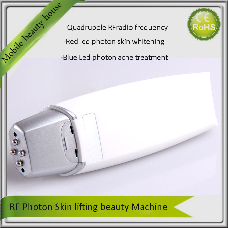 Free Shipping Mini RF Radio Frequency Beauty System Skin Expert Facial Appliance Instruments(China (Mainland))