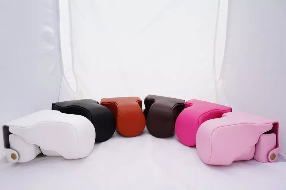 6 Color Vintage PU Leather Digital Camera Case Bag with Strap For FujiFilm Fuji X-M1 X-A1 X-A2 xm1 xa1 xa2 Fashional Cover(China (Mainland))
