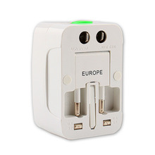 Travel Plug Adapters All in 1 Travel Worldwide Universal US UK AU EU Electrical Power Plug Adapter Free Shipping(China (Mainland))