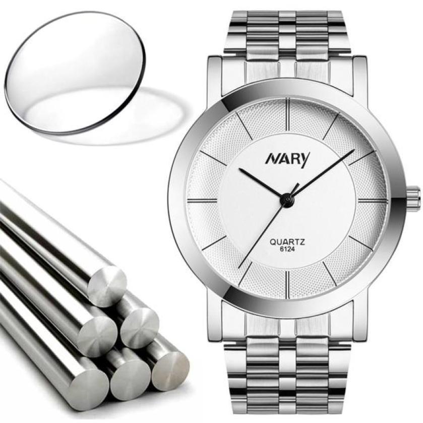 1 Pair Couple Watch Women Sliver Stainless Steel Band Quartz Wathes Men Luxury Business Wristwatch Relogio Masculino As Gift<br><br>Aliexpress